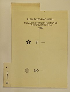 1980 Chilean constitutional referendum