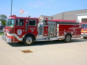 Sutphen - 1987 fire engine