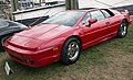 1991 Lotus Esprit Turbo SE (US model), front left at Greenwich 2018.jpg