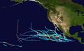 1992 Pacific hurricane season summary map.png