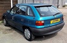 vauxhall astra mk iii 5-door hatchback (pre-facelift)