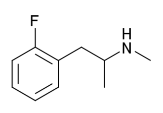 2-Fluoromethamphetamine - Image: 2 Fluoromethamphetamin e