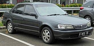Toyota Corolla (E110) - 2000–2001 Corolla sedan (Asia)