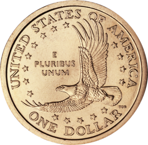 Thomas D. Rogers - Among the coins designed by Rogers is the original reverse of the U.S. dollar coin popularly known as the Sacagawea dollar.  It depicts an eagle in flight.