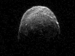 Asteroid 2005 YU 55