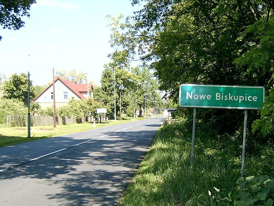 Nowe Biskupice, Lubusz Voivodeship