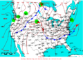 2007-05-13 Surface Weather Map NOAA.png