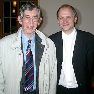 Colin Mawby - Colin Mawby with Michael Scholl (Biederitzer Kantorei, 2007)
