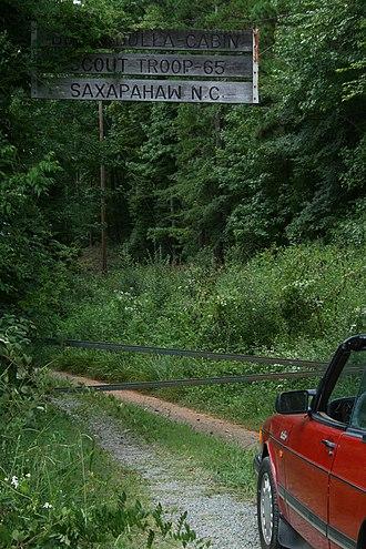 Saxapahaw, North Carolina - Ben Bulla Boy Scout Cabin in Saxapahaw