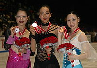 2008 NHK Trophy ladies podium.jpg