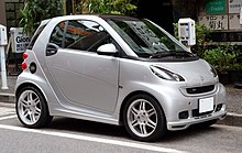 Smart fortwo wikipedia 2008 fortwo brabus altavistaventures Choice Image