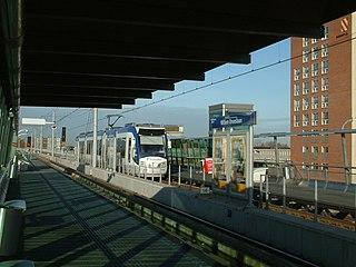 Willem Dreeslaan RandstadRail station RandstadRail station