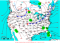 2009-05-22 Surface Weather Map NOAA.png