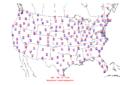 2009-09-11 Max-min Temperature Map NOAA.png