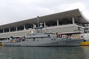 Roussen-class fast attack craft - Image: 20091205 Piraeus P67 Roussen