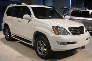 2009 Lexus GX470 photographed at the 2009 Wash...