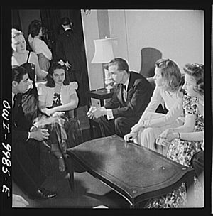 Marjory Collins - Image: 200 high school students chosen for their intellectual alertness visited Washington for a week 8d 23128v