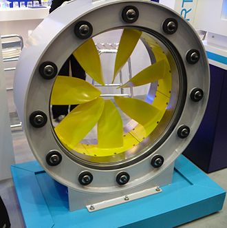 Rim-driven thruster - Rim Thruster, presented at SMM 2010
