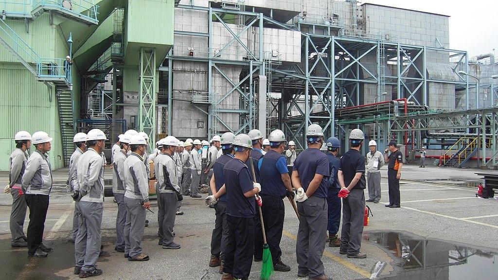 2011년 7월 25일 영동화력발전소 소방합동훈련 SDC10791