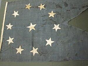 2011-10-1 Flag, Personal, Admiral Franklin Buchanan, After Conservation.jpg