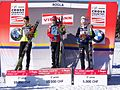 2011 Rogla FIS Cross-Country World Cup, podium (3).jpg