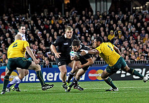 Sport in New Zealand - All Blacks vs Australia at the 2011 Rugby World Cup
