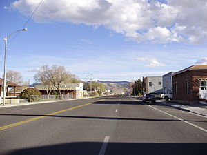 Wells, Nevada - Downtown Wells