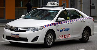 Vehicle for hire - Taxicab in Perth