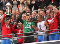 2012 FA Trophy Final Chris Smith trophy.png