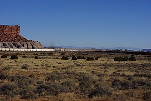 2013, View E Toward Mesita, NM. Mesita on Right Side of Image - panoramio.jpg