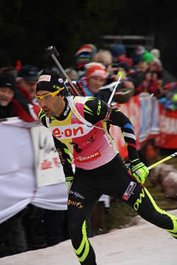 2014-01-04 Biathlon World Cup Oberhof - Mens Pursuit - 3 - Martin Fourcade.JPG