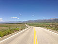 2014-06-13 13 50 06 View east along Nevada State Route 227 (Lamoille Highway) approaching Lamoille, Nevada.JPG