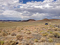 2014-07-18 16 32 00 View east-northeast from the north lip of the Lunar Crater, Nevada.JPG