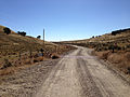 2014-10-20 13 35 44 View west at the east end of Goose Creek Road (Elko County Route 762) about 20.3 miles east of Little Goose Creek, crossing into Elko County, Nevada from Box Elder County, Utah.jpg