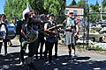 2014 Fremont Solstice parade - Yes Ma'am Brass Band 03 (14509630722).jpg
