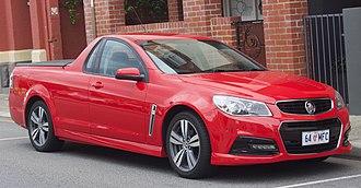 Ute (vehicle) - 2014 Holden VF Commodore Ute