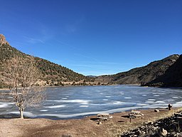 2015-01-15 13 08 41 View east across Eagle Valley Reservoir in Spring Valley State Park, Nevada.JPG