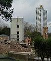 2015-London-Woolwich, demolition Connaught Estate 01.jpg