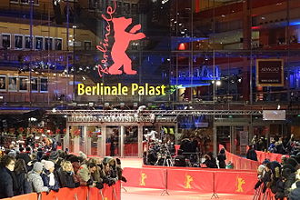 The Berlinale is the largest international spectator film festival. 20150208 - Berlinale Palast and Red Carpet.JPG