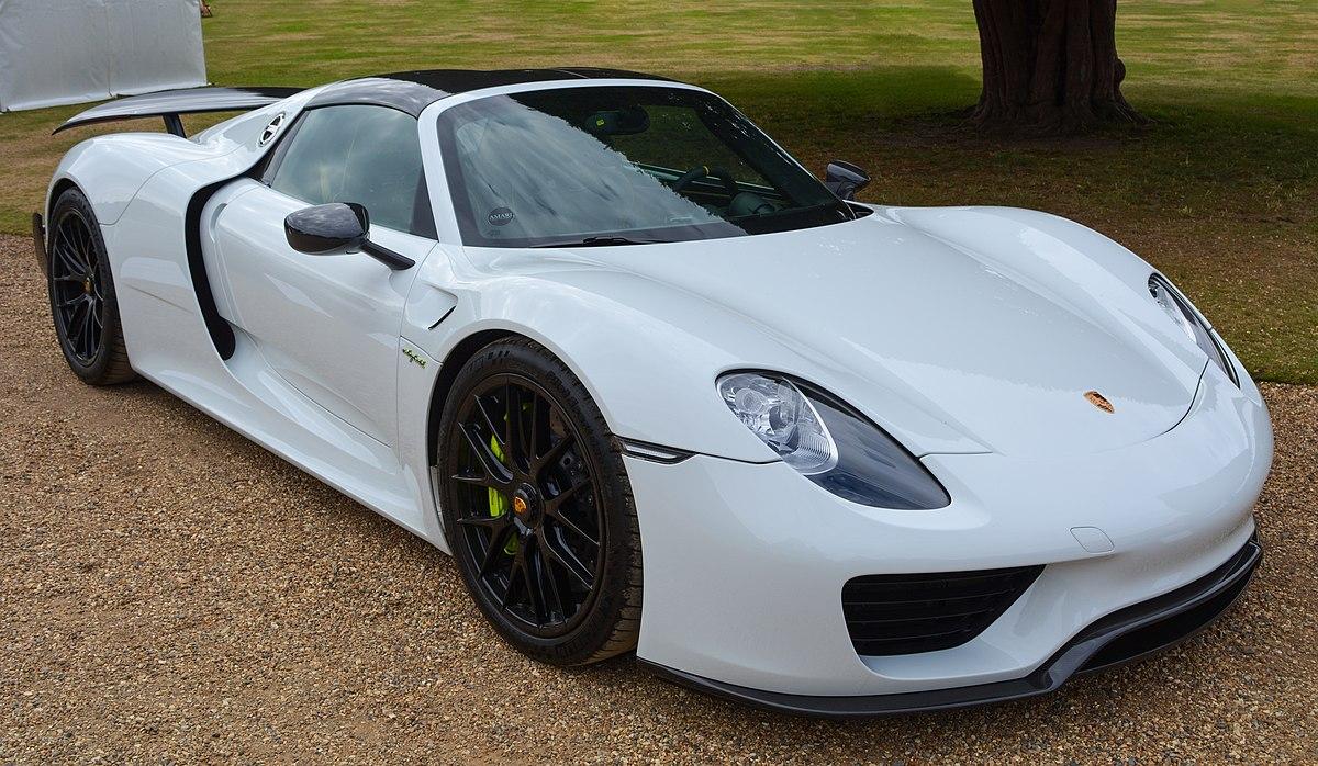 Porsche 918 Spyder , Wikipedia