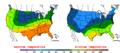 2016-04-29 Color Max-min Temperature Map NOAA.png