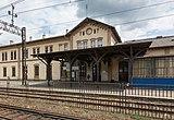 2016 Dworzec kolejowy w Strzelinie, pierwsza wiata peronowa.jpg