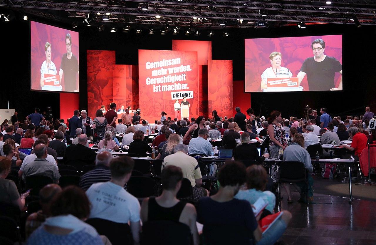 2018-06-08 Bundesparteitag Die Linke 2018 in Leipzig by Sandro Halank–005.jpg