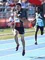 2018-10-16 Stage 2 (Boys' 400 metre hurdles) at 2018 Summer Youth Olympics by Sandro Halank–108.jpg