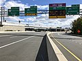 2018-10-24 12 20 41 View east along Virginia State Route 267 (Dulles Toll Road) at Exit 18B (Interstate 495 NORTH, Baltimore) in Tysons Corner, Fairfax County, Virginia.jpg