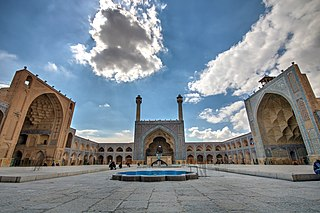 Jameh Mosque of Isfahan mosque in Iran