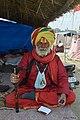 2019 Jan 15 - Prayagraj Kumbh Mela - Portrait of a Sadhu.jpg