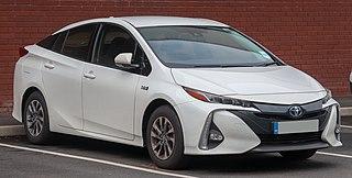 Toyota Prius Plug-in Hybrid Motor vehicle