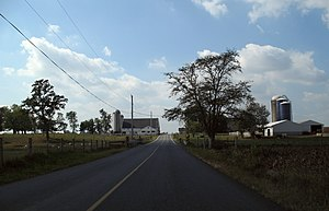 Ephrata, Pennsylvania - The surroundings of Ephrata are primarily rural in nature