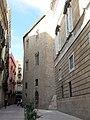 29 Palau de la Generalitat, façana c. Sant Honorat.JPG
